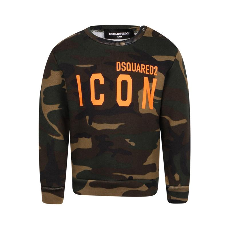 DSQUARED2 - Sweat bébé army