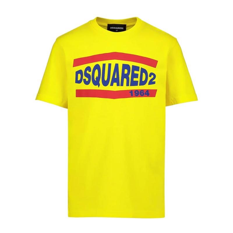 DSQUARED2 - Tee shirt jaune