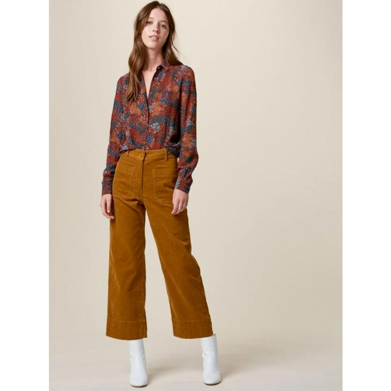SESSUN - Pantalon cropped Hudson