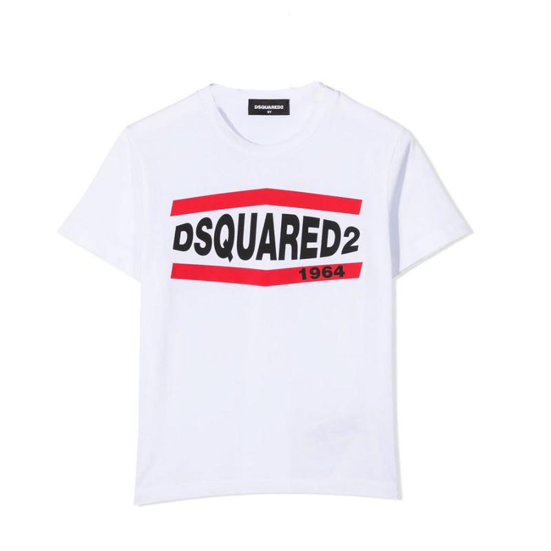 DSQUARED2 - Tee shirt blanc- Nouvelle collection
