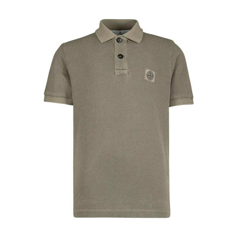 STONE ISLAND JUNIOR - Polo beige