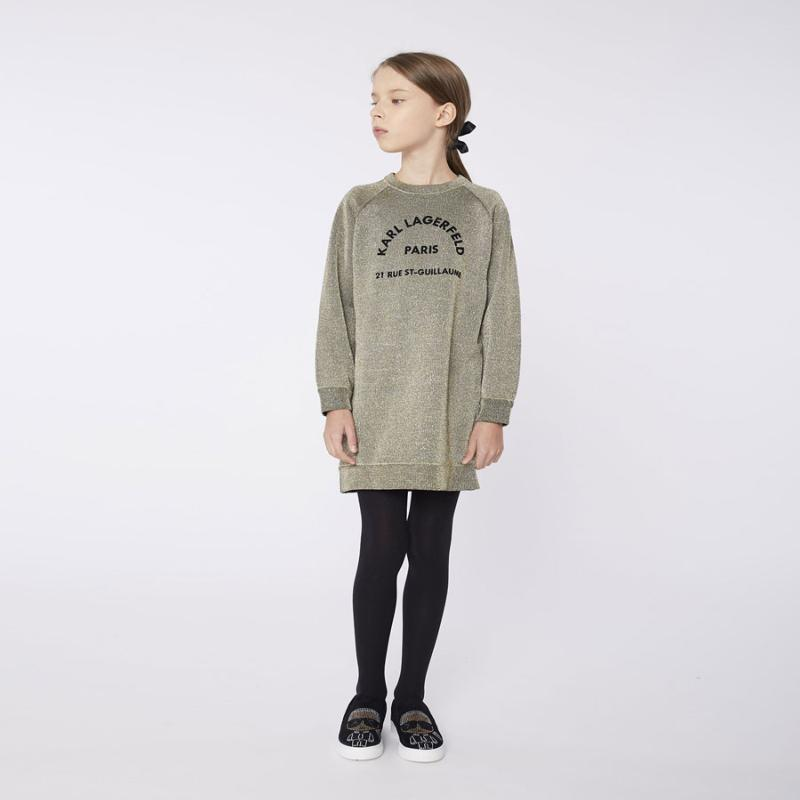 KARL LAGERFELD - Robe sweat