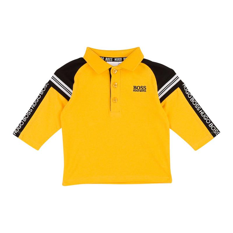Boss Enfant - Polo bicolre - Boutique Maximô