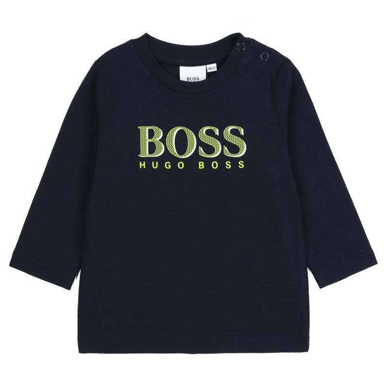 BOSS - Tee shirt layette navy
