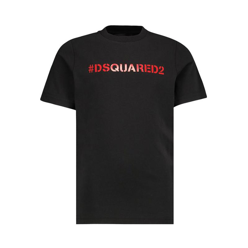 DSQUARED2 - Tee shirt noir avec logo - Nouvelle Collection