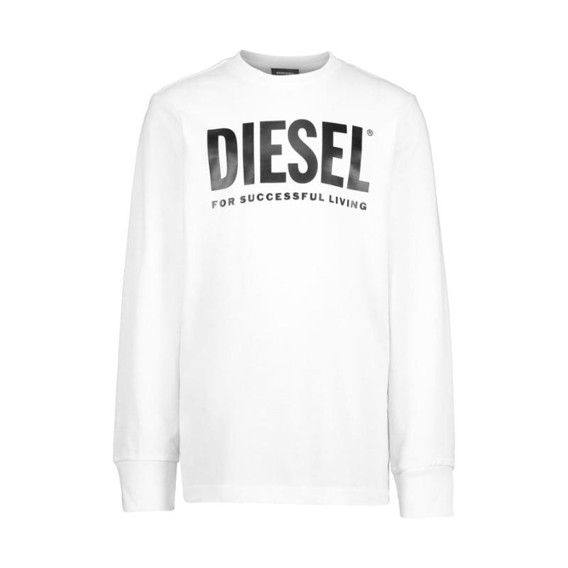 DIESEL KID - Tee shirt blanc - Nouvelle collection