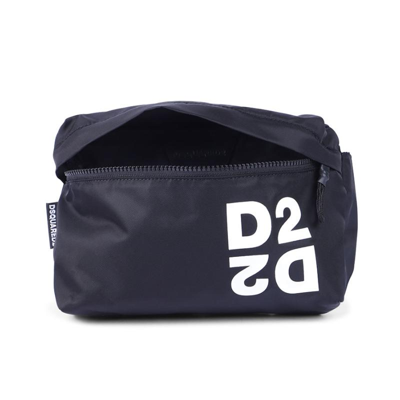 DSQUARED2 - Sac banane noir - Nouvelle Collection