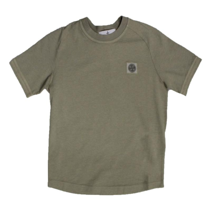 STONE iSLAND JUNIOR - Tee shirt beige- Nouvelle Collection