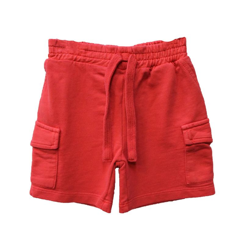 PLEASE - Short en molleton cerise - Nouvelle collection