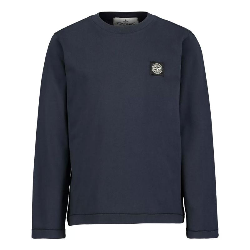 STONE ISLAND JUNIOR - Tee shirt noir - Nouvelle collection