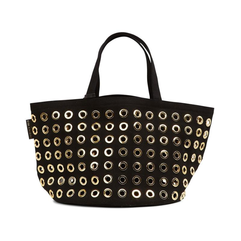 LAURENCE BRAS - Cabas Muffin noir