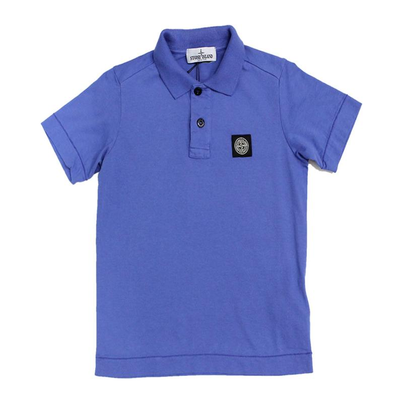 STONE ISLAND JUNIOR - Polo manches courtes