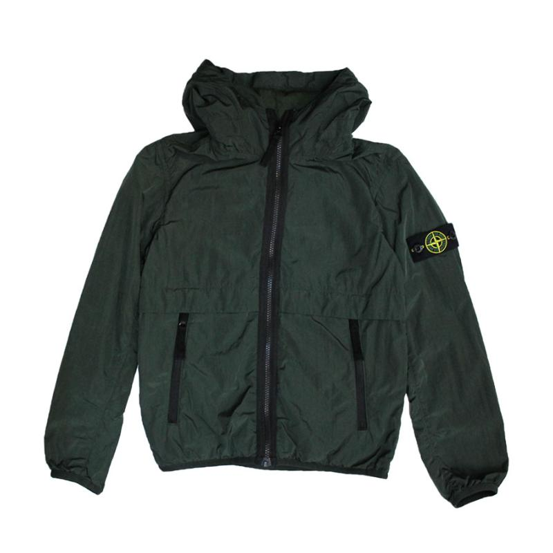 STONE ISLAND JUNIOR - Blouson en nylon - Nouvelle collection