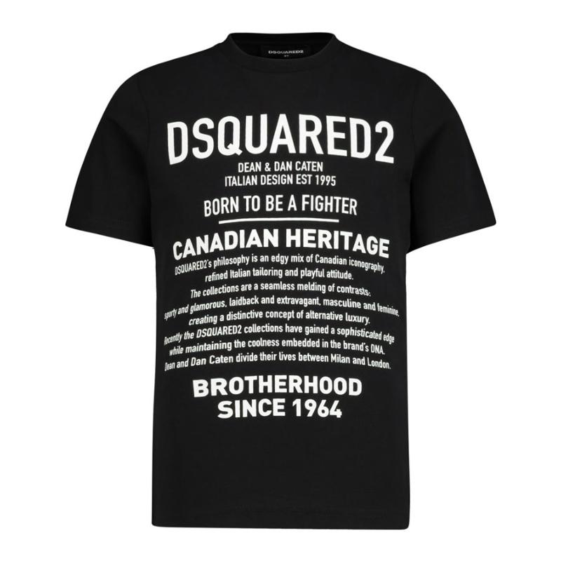 DSQUARED2 - Tee shirt inscription - Soldes