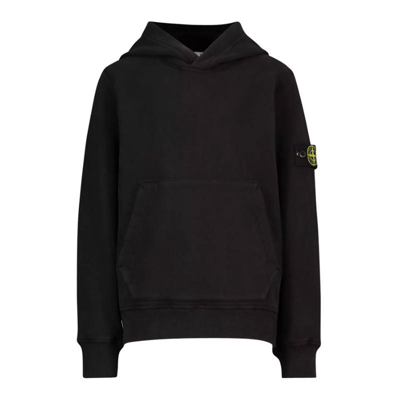 STONE ISLAND JUNIOR - Sweat hoodie navy - Nouvelle collection