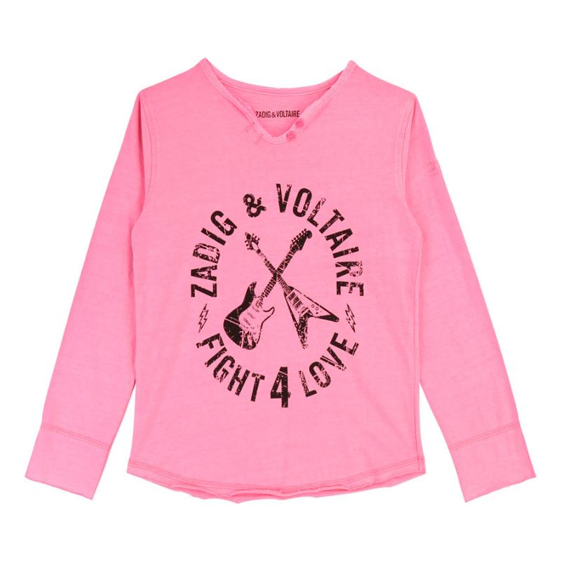 ZADIG & VOLTAIRE - Tee shirt manches longues