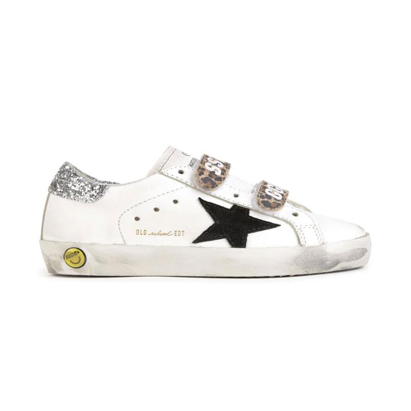 GOLDEN GOOSE DELUXE BRAND - Sneakers Old School leopard