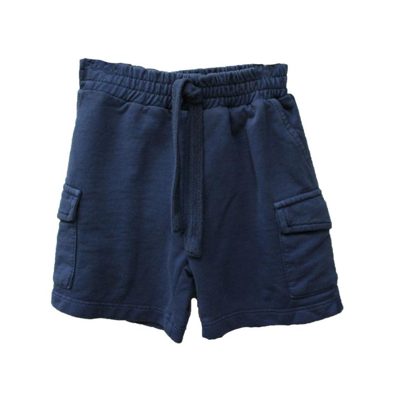 PLEASE - Short en molleton navy - Nouvelle collection