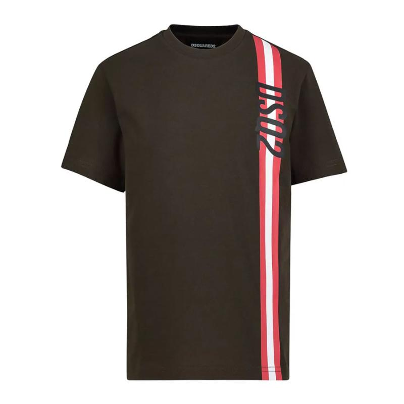 DSQUARED2 - Tee shirt kaki