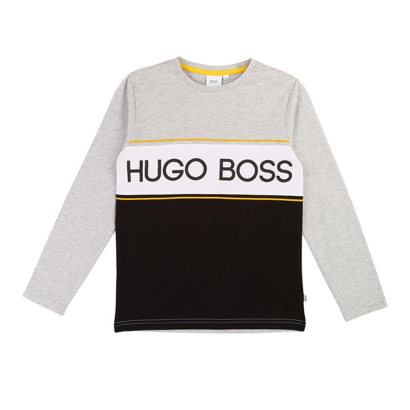 BOSS - Tee shirt tricolore
