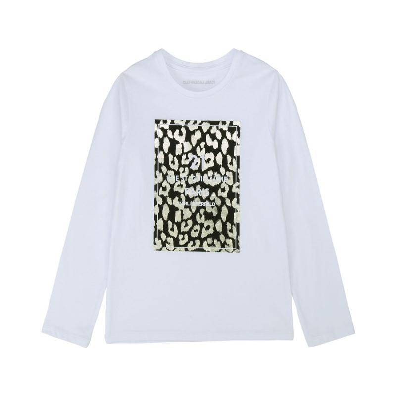 KARL LAGERFELD - Tee shirt en jersey - Nouvelole collection
