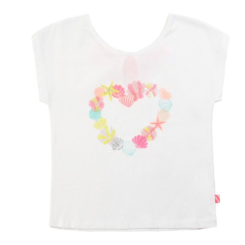 BILLIEBLUSH - Tee shirt illustration coeur