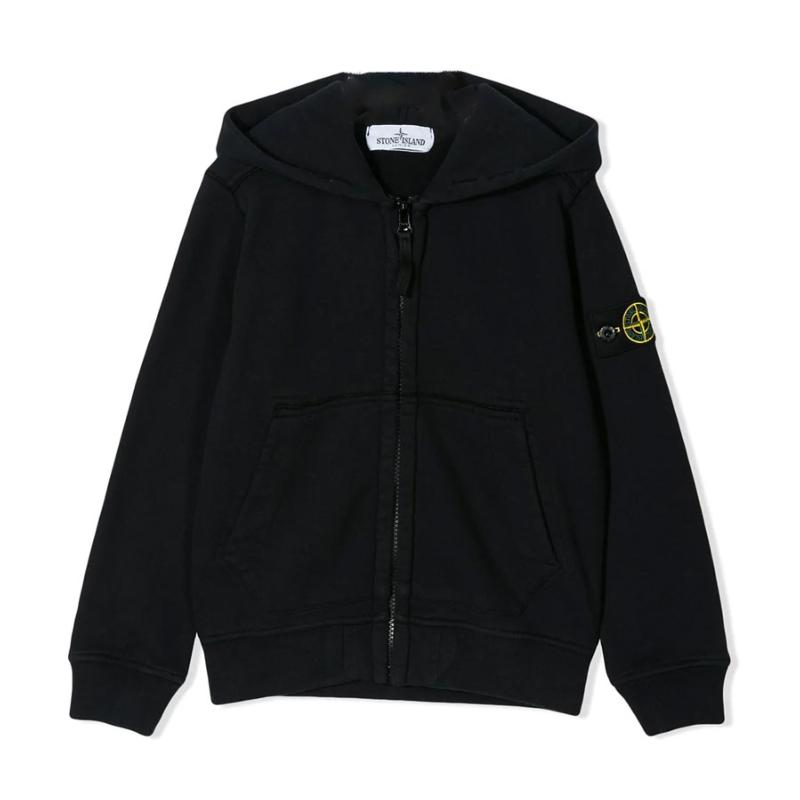 STONE ISLAND JUNIOR - Sweat zippé - Nouvelle Collection