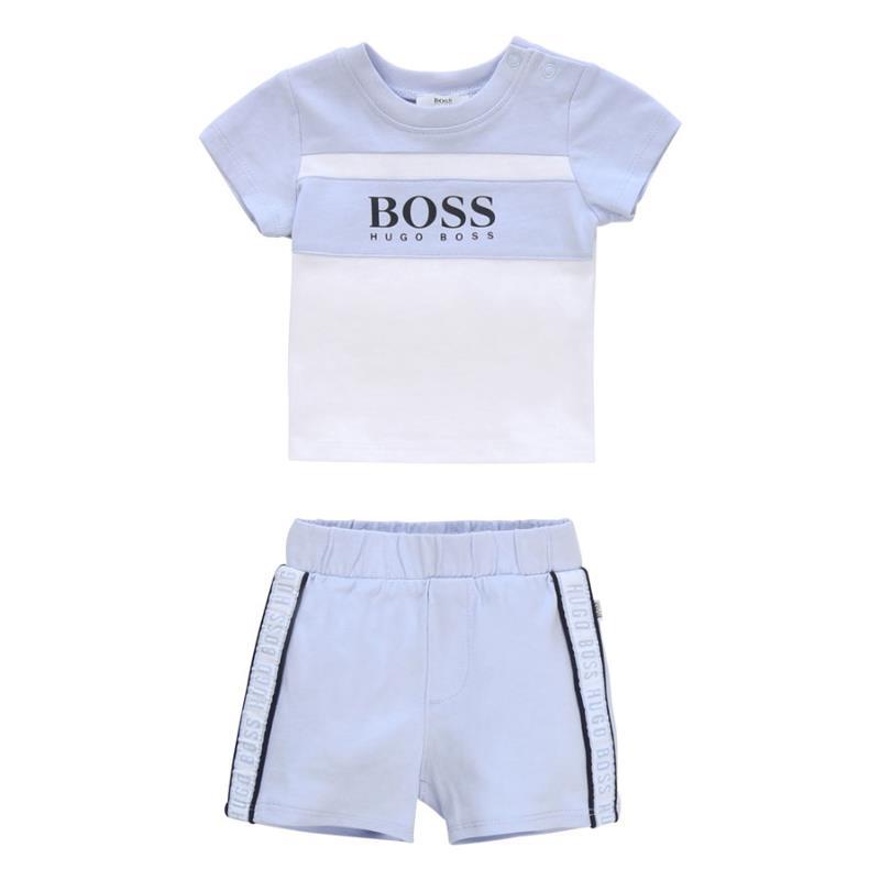 Ensemnle tee shirt et short Boss - Maximô