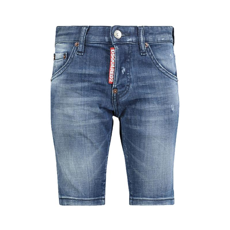 DSQUARED2 - Bermuda en jeans - Nouvelle Collection
