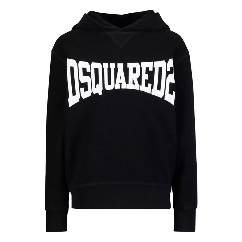 DSQUARED2 - Sweat hoodie noir - Nouvelle collection