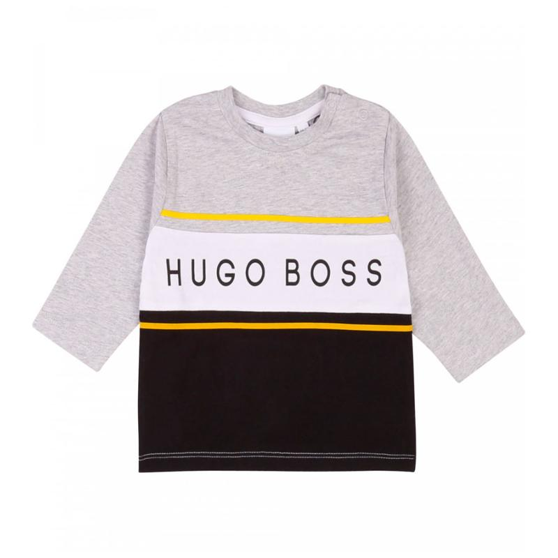 BOSS ENFANT - Tee shirt bicolore