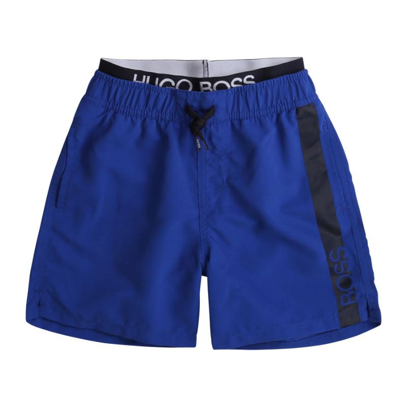 BOSS - Short de bain bleu