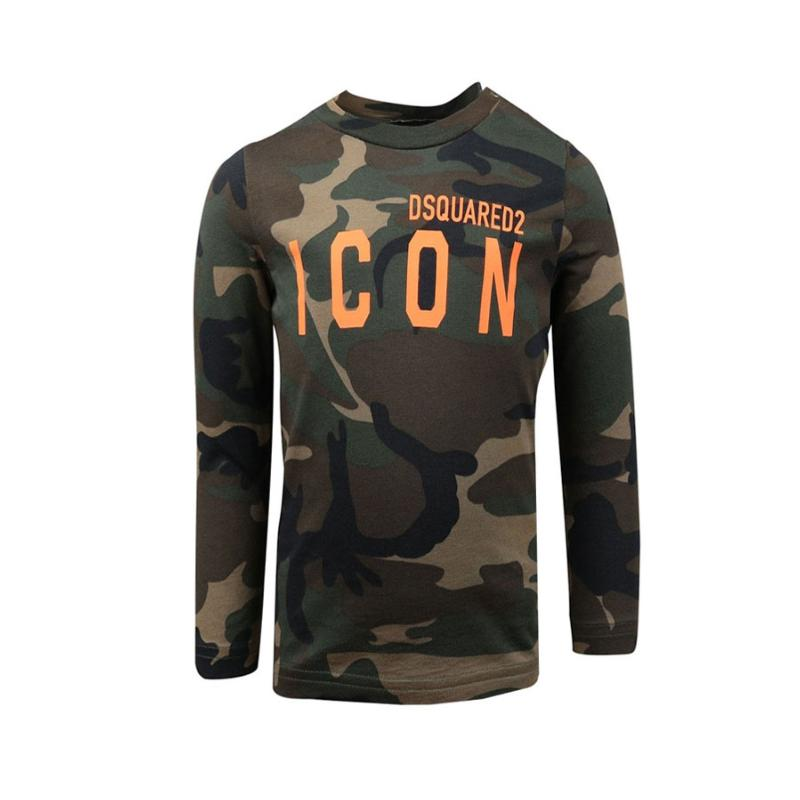 DSQUARED2 - Tee shirt bébé army