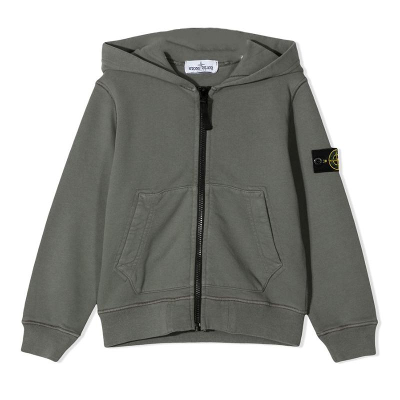 STONE ISLAND JUNIOR - Gilet capuche - Nouvelle collection