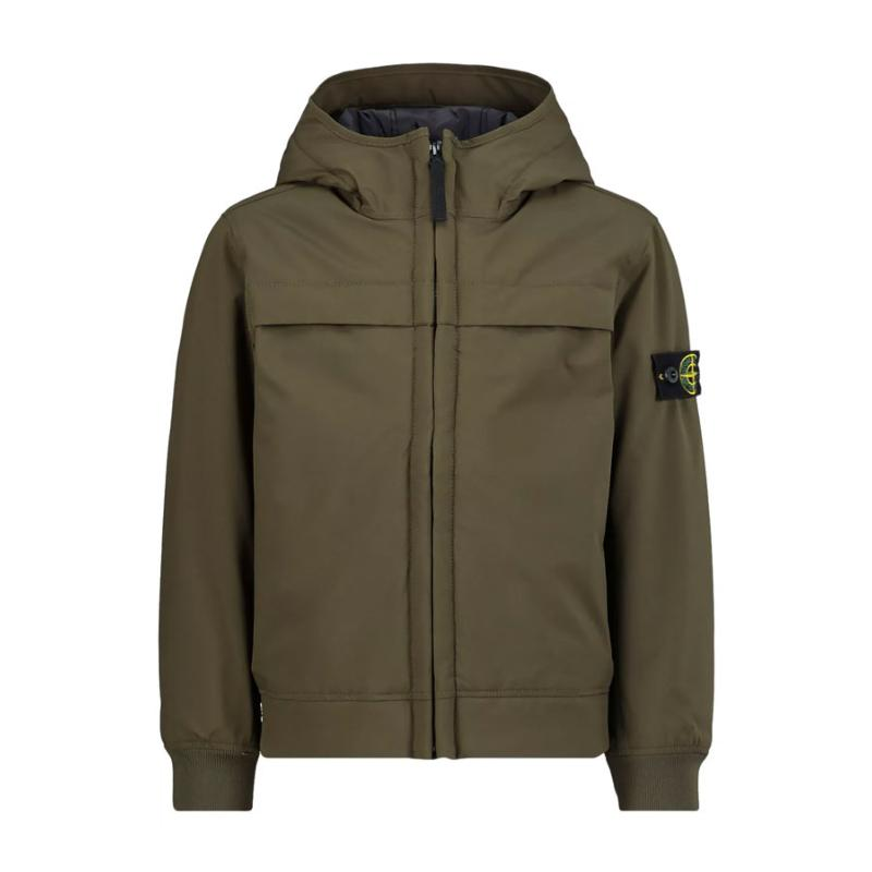 STONE ISLAND JUNIOR - Blouson soft shell- Nouvelle collection