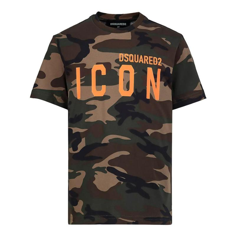 DSQUARED2 - Tee shirt army Icon