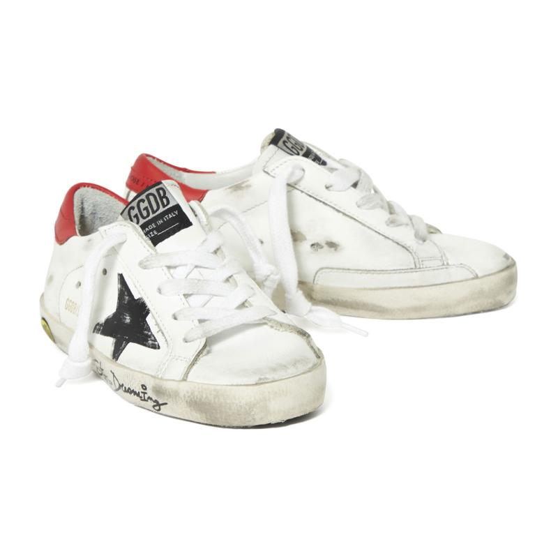 GOLDEN GOOSE DELUXE BRAND - Superstar en cuir