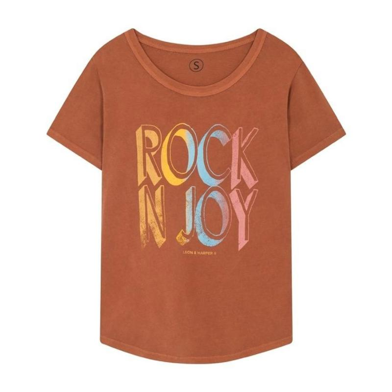LEON AND HARPER - Tee shirt Toro rock toffee