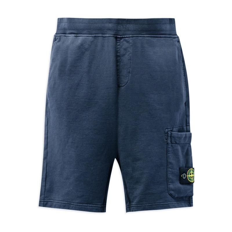 STONE ISLAND JUNIOR - Bermuda en molleton - Nouvelle Collection