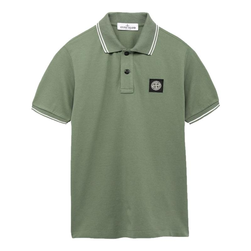 STONE ISLAND JUNIOR - Polo manches courtes - Nouvelle collection